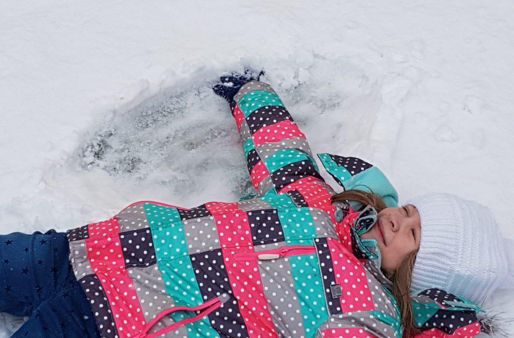 Rumianki – zabawy na śniegu