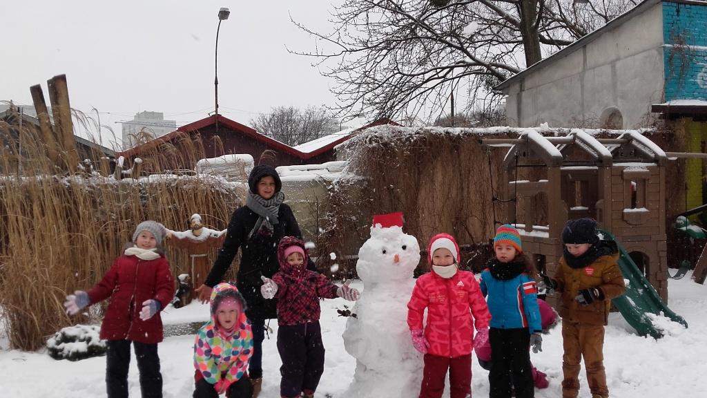 Maki i Bratki – zabawy na śniegu