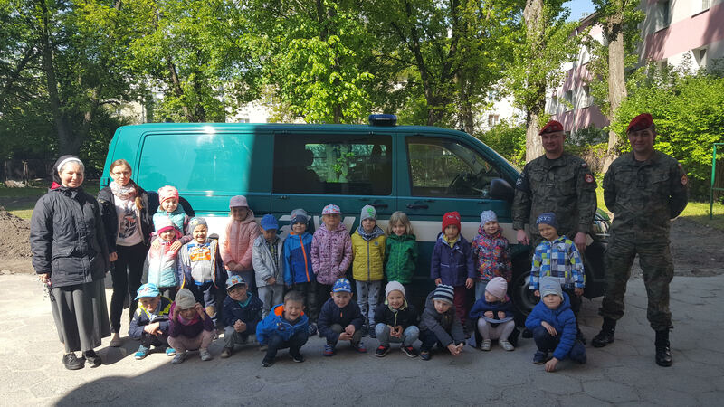 Wizyta żołnierzy