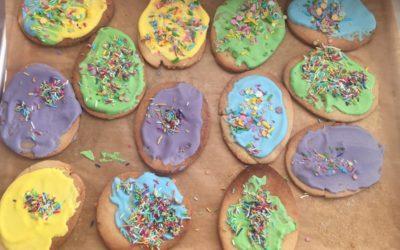 Konwalie – ciasteczka wielkanocne