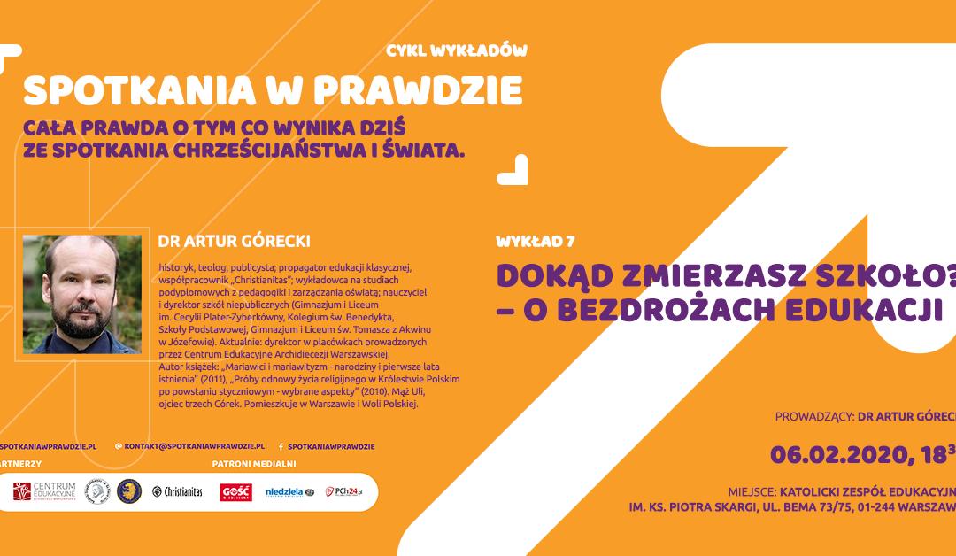 """""""Spotkania w Prawdzie"""" – 6 lutego, godz. 18:30"""