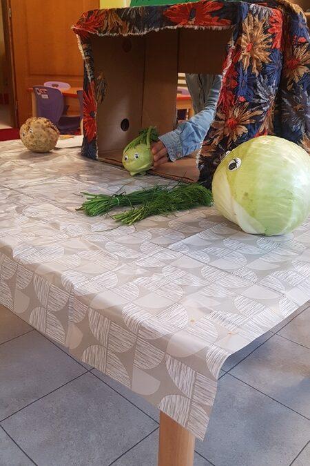 Dzień warzywny u Chaberków