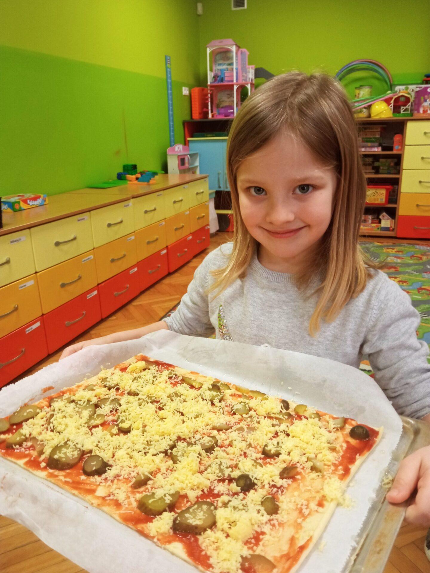 Dzień pizzy we Fiołkach