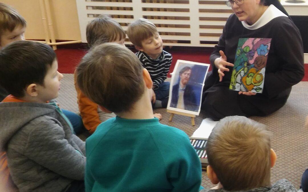 Konwalie- spotkanie ze sztuką